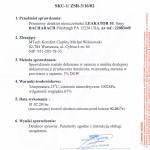 Certyfikat - Gazex